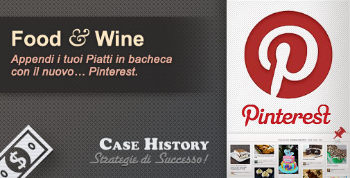 Pinterest: Appendi i tuoi Piatti in Bacheca
