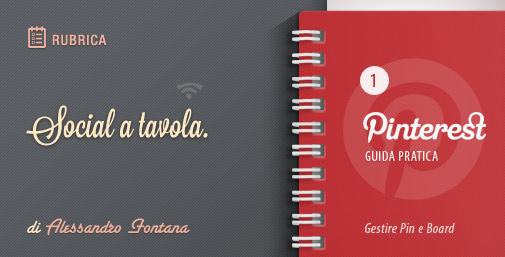 Social a Tavola: Gestire Pinterest