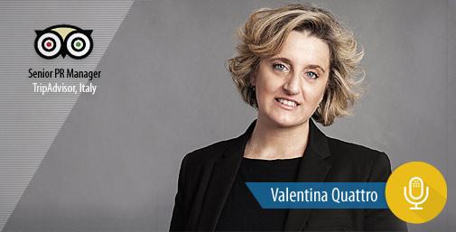 Intervista a TripAdvisor con Valentina Quattro