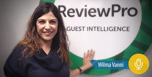 Intervista a ReviewPro con Wilma Vanni
