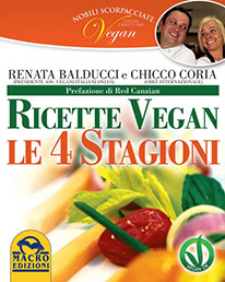 Ricette Vegan Le 4 Satgioni - Copertina