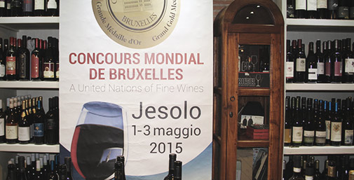 Concours Mondial de Bruxelles - Jesolo 2015
