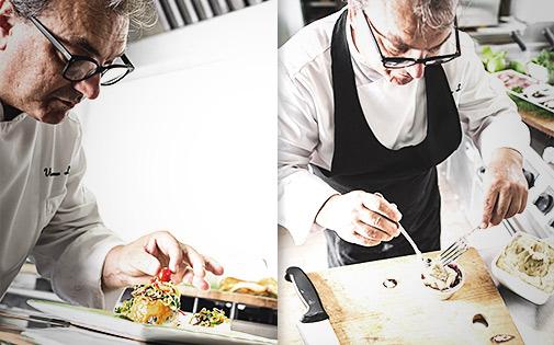 Cucina dello Chef Vincenzo Lunetta