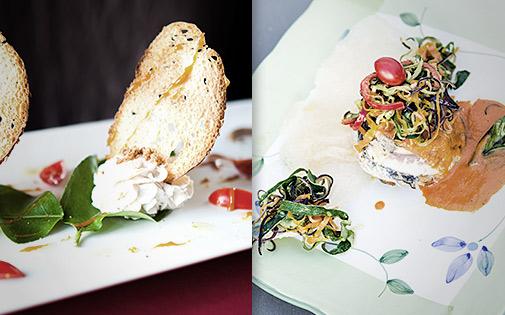 Piatti e Stile di Chef Vincenzo Lunetta