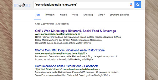 Brand Reputation - Ricerca