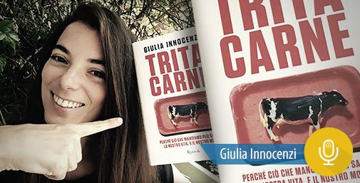 Intervista a Giulia Innocenzi, Coscienza Vegetariana del Ristoratore