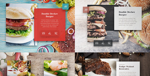 Menu Design e Food Photography