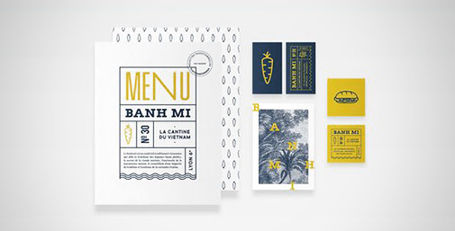Restaurant Menu Design by Studio Cosmos