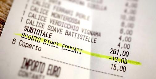 Antonio Ferrari Bistrot: Sconto Bimbi Educati