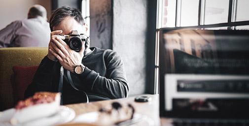 Visual Content: Tecnologia, Fotografia e Competenza