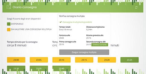 Deliverart Food Delivery Platform - Consegna Multipla
