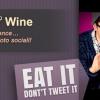Mangialo, non Twittarlo! Social Media e Nuove Manie Culinarie