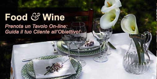 Ristoranti: Prenota un Tavolo Online