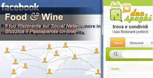 Ristoranti: Promuoversi con i Social Network