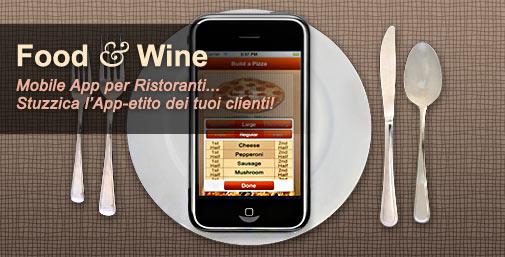 Ristoranti: Mobile App per Smartphone