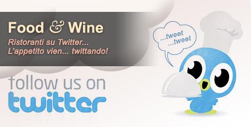 Ristoranti: Social Media... Twitter