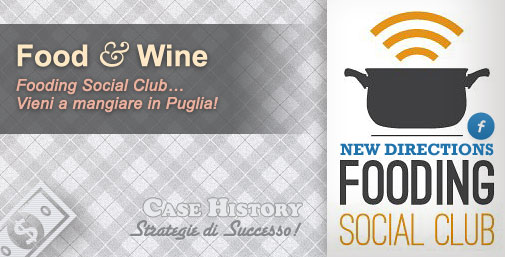 Food 2.0 in Puglia - New Directions