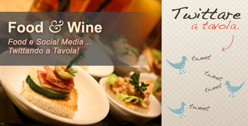 Tweet a Tavola e Social Food