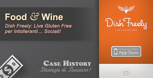 Piatti Gluten-Free Geo-localizzati: Dish Freely