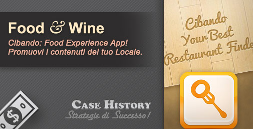 Cibando: App Italiana dedicata alla Food Experience