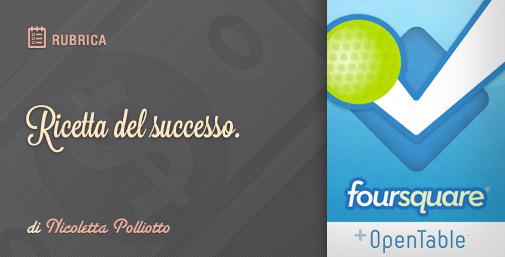 Prenotare con Foursquare