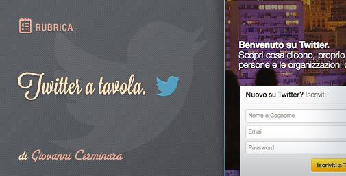 Twitter a Tavola: Creare e Personalizzare un nuovo Account