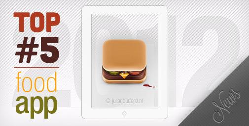 Le Food App del 2012: Food App & News
