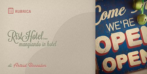 Ristorante in Hotel aperto a Tutti: RistoHotel