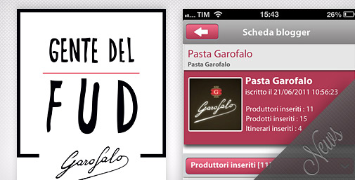 Gente del Fud: Food App & News