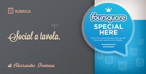 Promuovere il tuo Ristorante su Foursquare