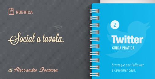 Social a Tavola: Strategie Twitter