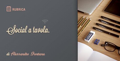 Social a Tavola: Post Facebook Perfetti