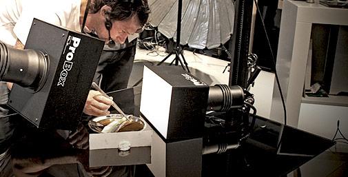 Consigli di luce artificiale food photography in studio cnr