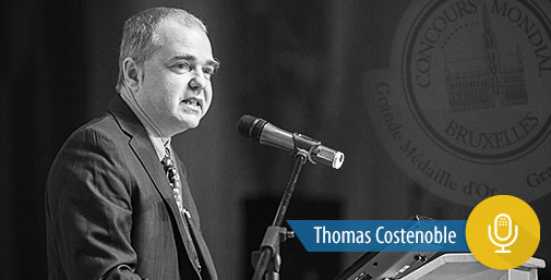 Intervista a Thomas Costenoble, Direttore Concours Mondial de Bruxelles