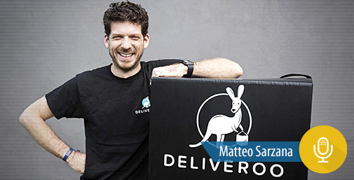 Intervista a Deliveroo - Cibo di Qualità a Domicilio