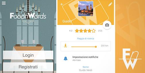 FoodnWords: Social Eating App
