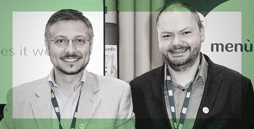 MenuNFC - Founders Davide Danise e Riccardo Tonon