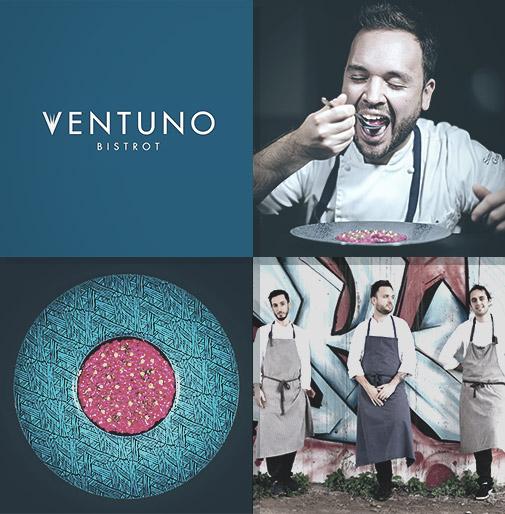 Ventuno Bistrot - Chef Simone Gori e Brigata Cucina