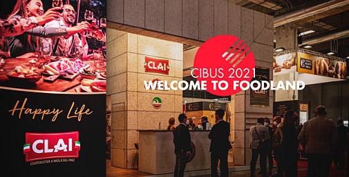 Stand CLAI a Cibus 2021